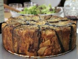 Eggplant and Pasta Incaciata