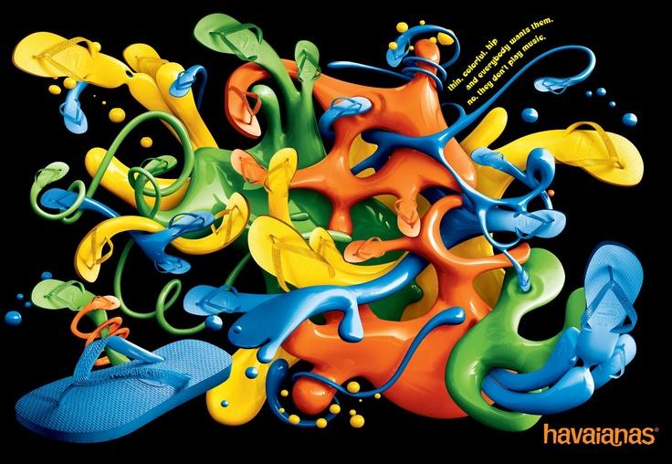 Pergaminelli Design Accademia: Product & Graphics : Havaianas Sandals