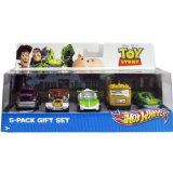 Disney Toy Story Hot Wheels Die Cast Cars 5 Pack Woody Buzz Lenny Rocky RC