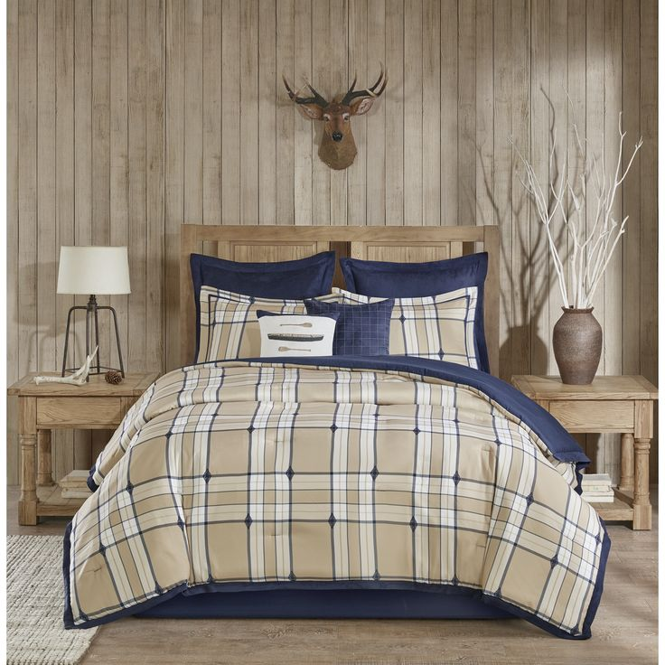 Woolrich Feather Tan Comforter 8-Piece Set