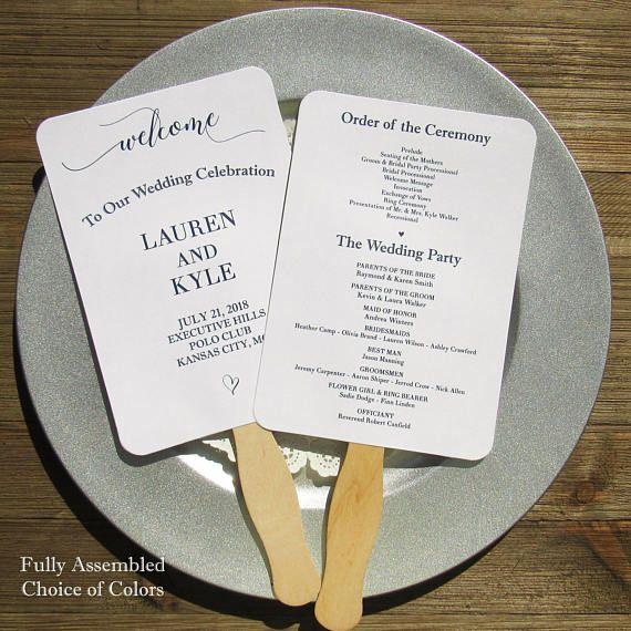 Wedding Fan: Best 25+ Fan Wedding Programs Ideas On Pinterest