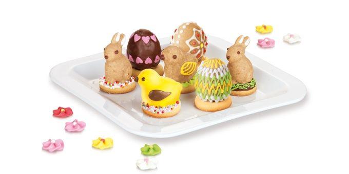 Foremki Na Ciasteczka Nadziewane Delicia 3 Wzory Wielkanocne Markowy E Shop Tescoma Easter Recipes Food Table Food
