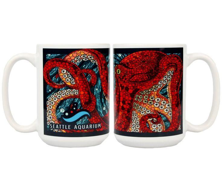 Seattle Aquarium | Mosaic Octopus Mug Online Store