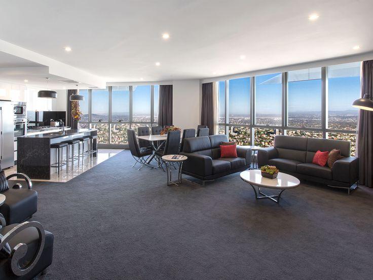 3 Bedroom Penthouse Apartment Meriton Luxury Hotel Brisbane Herschel St