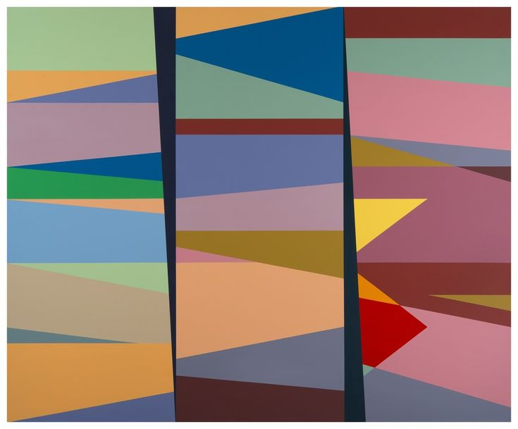 Odili Donald Odita, 2nd and 3rd Degree of Separation (OD15.004), 2015, Stevenson