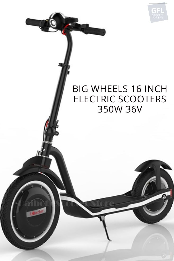 Electric Scooter Foldable 16 Inch Two Wheels Electric Scooters