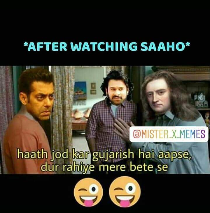 Are Bc Kuch Bhi Rating Saaho Parbhas Salmankhanmemes Salmankhan Parbhasfan Physics Bhaijan Saahomovie Physics Memes Salman Khan