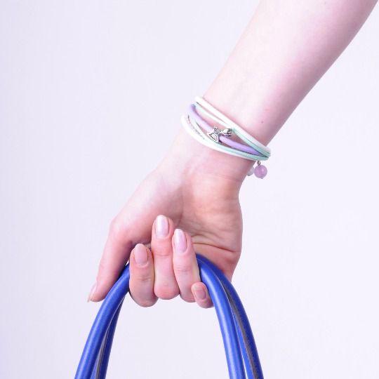 Pastel Purple & Mint Bracelet  £8.00