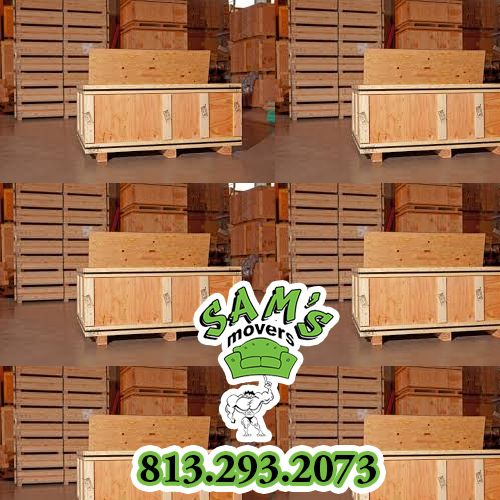 813-293-2073 Sams Movers with Storage Tampa Services Pods Crates and Climate Controlled Units. #MoverswithStorageTampa #MoverwithStorageTampa #MovingCompanywithStorageTampa