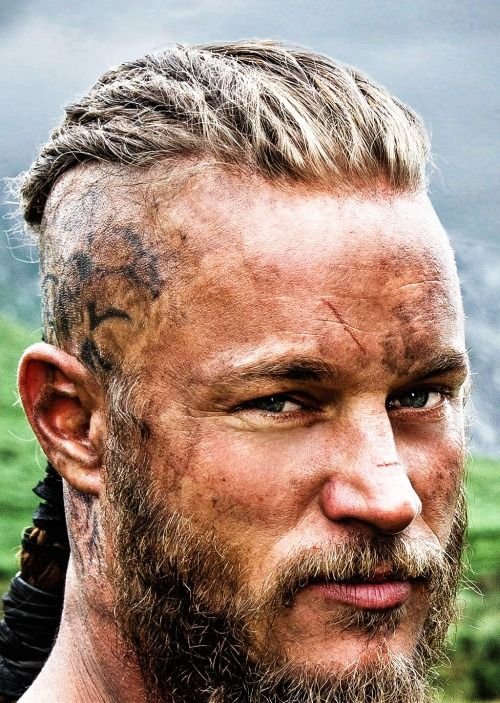 Travis Fimmel as Ragnar Lothbrok in Vikings