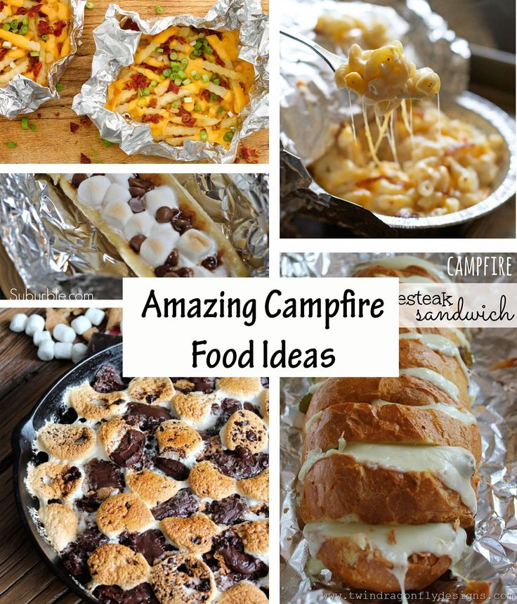 Kids Campfire Cooking And Recipes For Outdoor Cooking For: 100+ Campfire Cooking Recipes On Pinterest