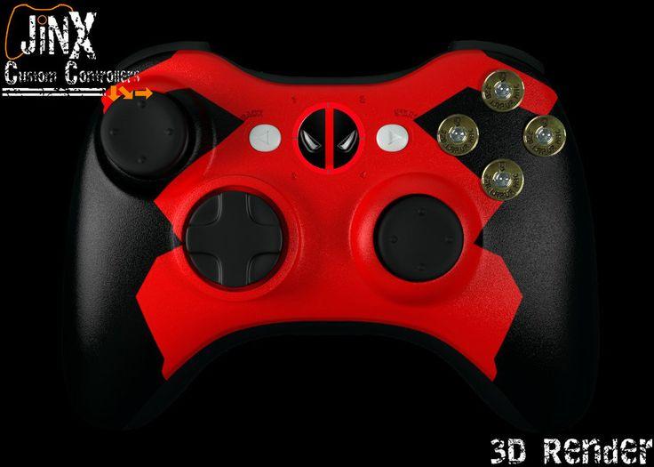 deadpool xbox 360 controller -