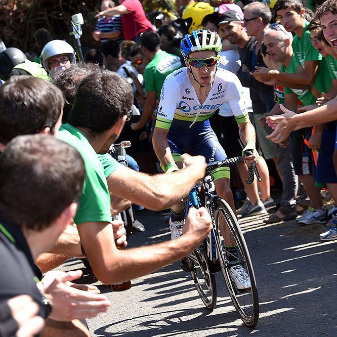 Clasica Ciclista San Sebastian 2015 - Adam Yates launched a solo attack Credit cycling_results via http://ift.tt/1ICT7Me