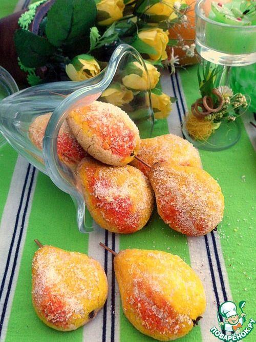 """Печенье """"Грушевая дичка"""" без муки - кулинарный рецепт"""