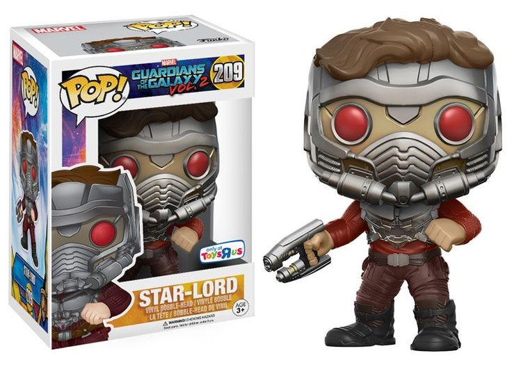 Pop! Marvel - Guardians of the Galaxy: Vol. 2 - Star-Lord [Masked with Gun]