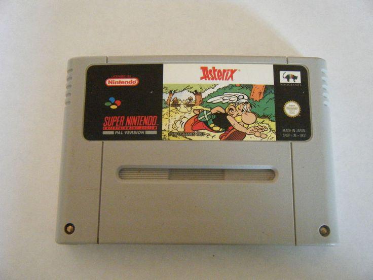 Asterix - Super Nintendo - Cartouche Seule - Occasion - PAL