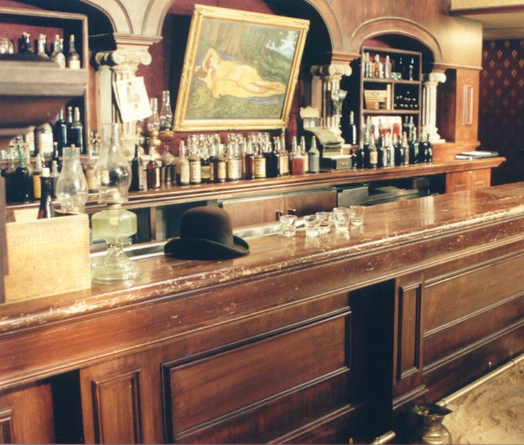 Awesome Old West Saloon Bar