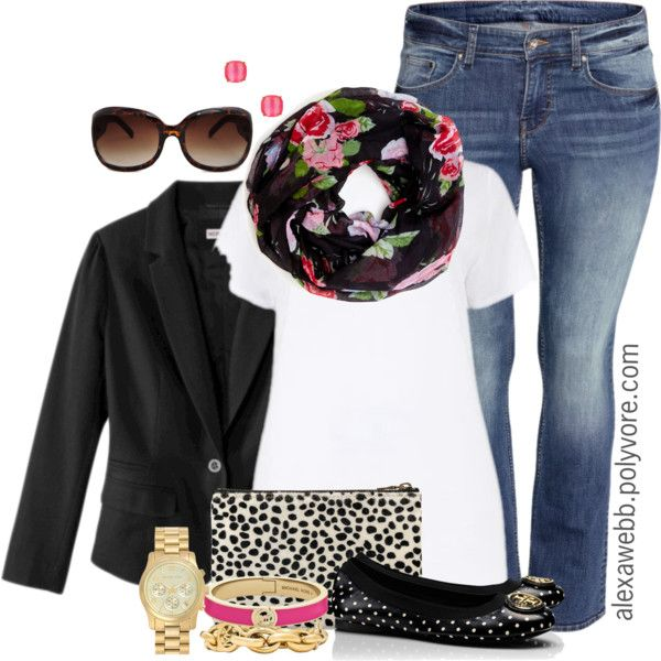 """#plus #size #outfit """"Plus Size - Casual Fashion"""" by alexawebb on Polyvore"""