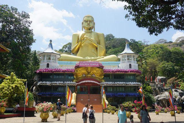 Dambulla Sri Lanka Sri Lanka Dambulla The Monks
