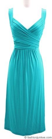 ..Turquoise dress