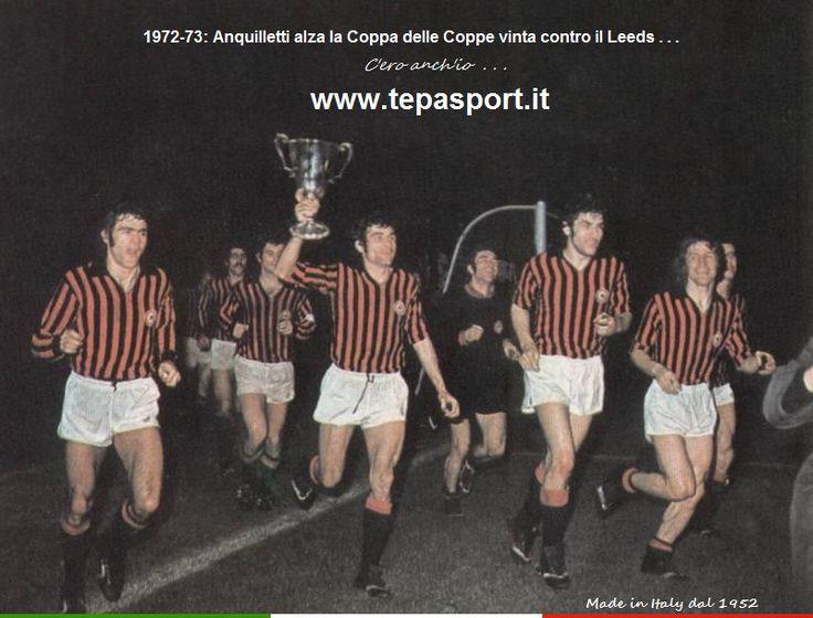 """Tantissimi auguri al mitico Mario Angelo Anquilletti """"L'anguilla""""  (San Donato Milanese, 25 aprile 1943 – Milano, 9 gennaio 2015)  ⚽️ C'ero anch'io ... http://www.casatepa.it/ 🇮🇹 Made in Italy dal 1952"""