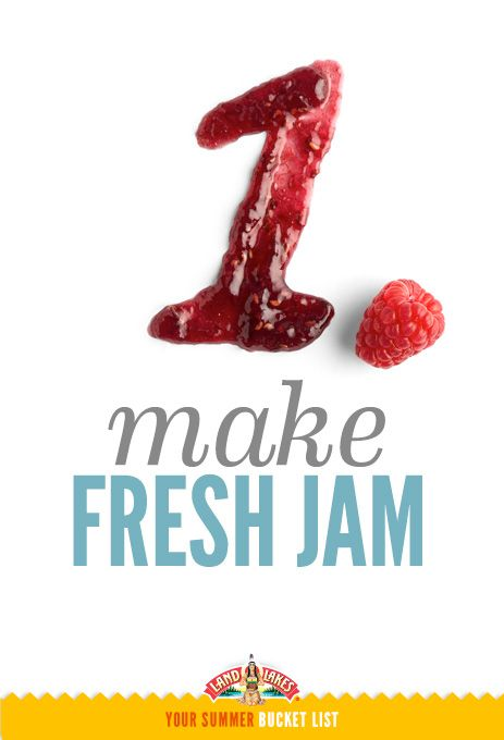 Strawberry freezer jam is quick and easy. What's on your #summerbucketlist?