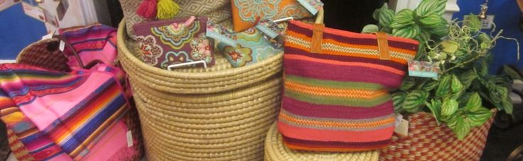 Fair Trade provides a sustainable market for the handcrafted products made by artisans from around the world, including many third world countries.