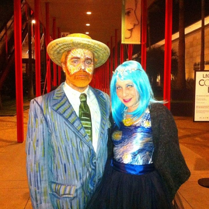 Vincent van Gogh costume pic from 10 More Incredible Halloween Makeup Transformations - My Modern Met