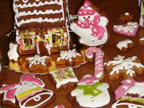 Готовим пряники. Рождественский Снеговик. Пряничный домик Christmas gingerbread - YouTube