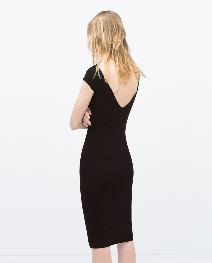 ZARA - WOMAN - V-BACK RAYON DRESS