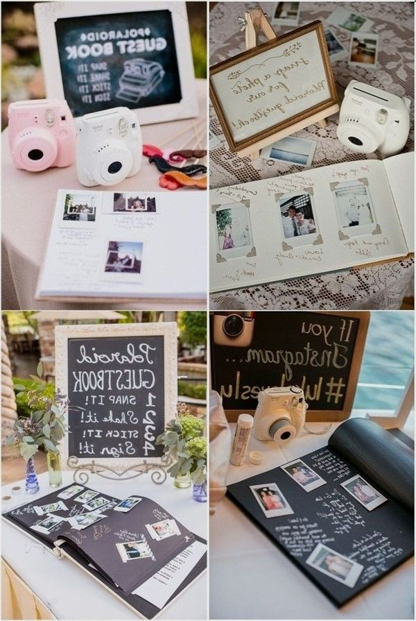 7 Creative Polaroid Marriage Concepts Too Cool To Avoid Classicwedding Quite Content Rusticwedding P Polaroid Wedding Wedding Pins Wedding Saving