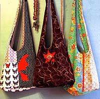 If you can sew and want purse or tote bag patterns..VISIT THIS SITE..hundreds of patterns and they are really awesome! Very reasonably priced, but you could borrow some ideas too!