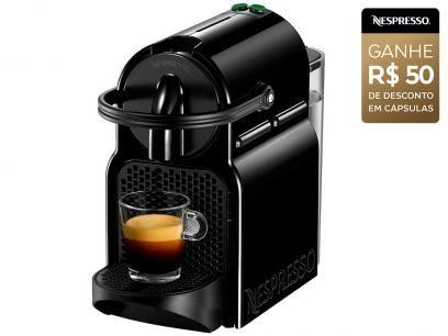 Cafeteira Expresso 19 Bar Nespresso Inissia - Preto com as melhores condições você encontra no Magazine Ofertascassiana. Confira!