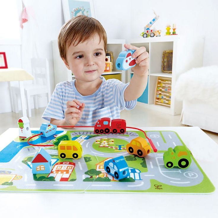 Busy City Play Set | E1022 | Hape Toys