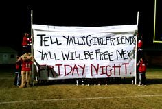 good ideas for high school football signs - Google Search