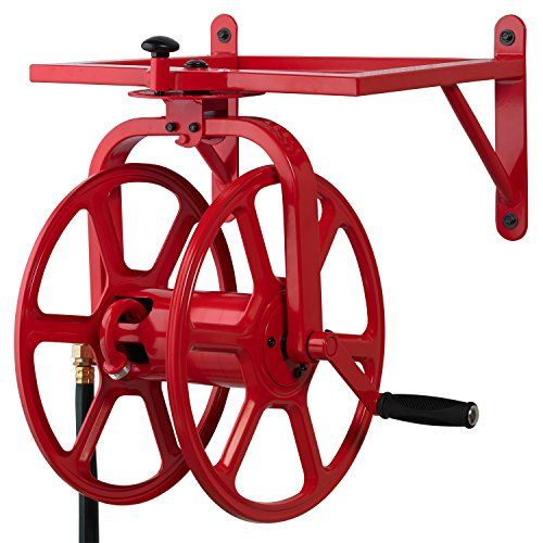Liberty Garden 713 Revolution Multi Directional Hose Reel Red *** Want to know more, click on the image.