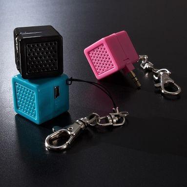 Speaker charms