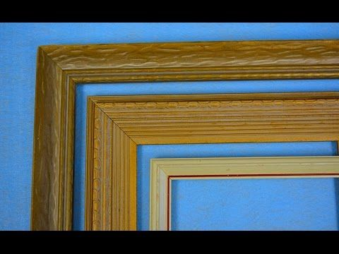 How to Make Your Own Picture Frames for Cheap — DIY Picture Frames