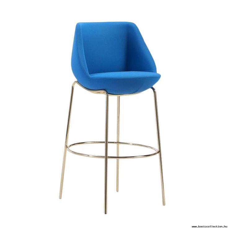 #basiccollection #stool #barstool #design #designfurniture #furniture #chair #blue #gold #upholstery