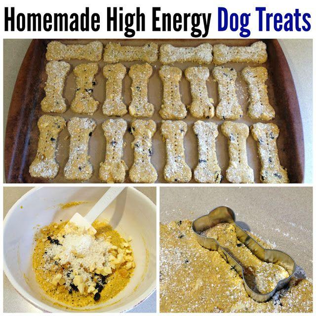 Homemade High Energy Dog Treats Recipe (Dog Nosh)