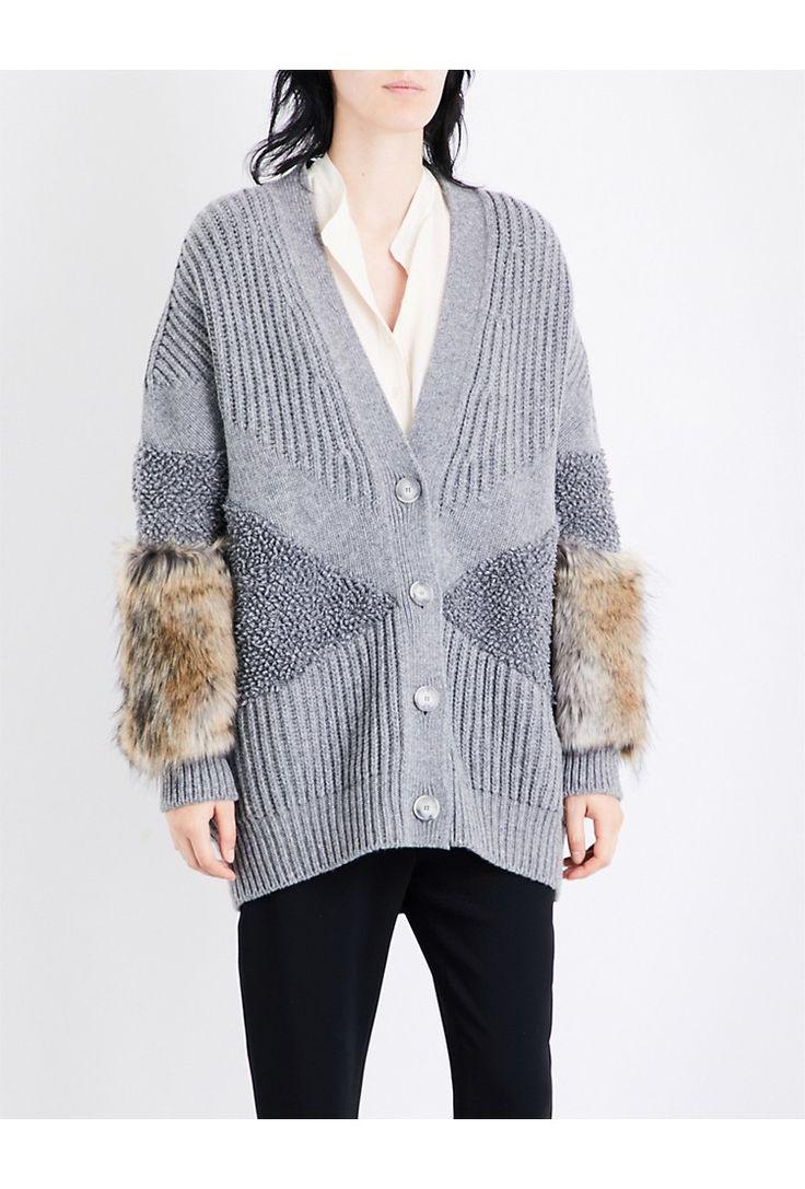 Sweater for Women Jumper On Sale, Navy Blue, Wool, 2017, 6 8 Stella McCartney