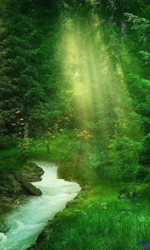 Beautiful Green Farms Wallpaper - MixHD wallpapers | Green ...