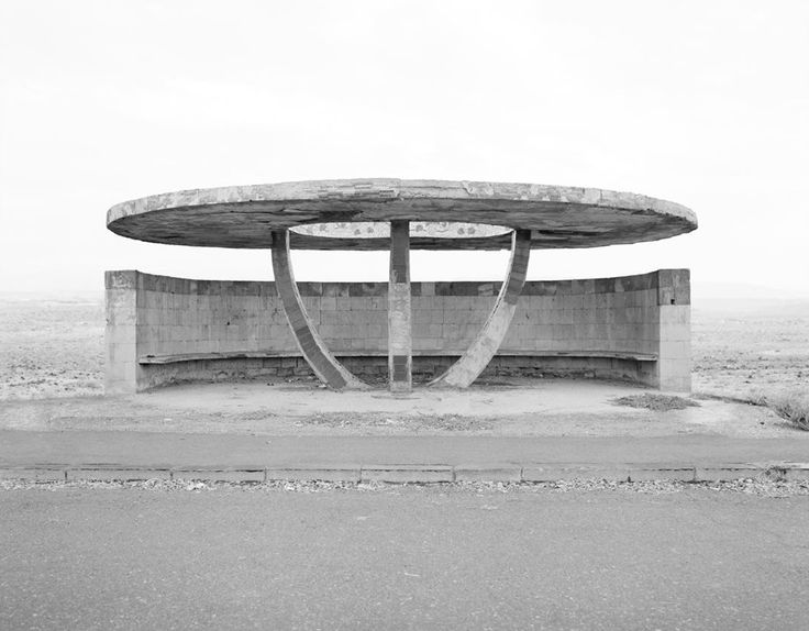 Bus stop. Armenia. | Ursula Schulz-Dornburg