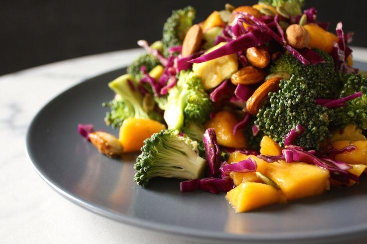 Brocolli and Mango Salad