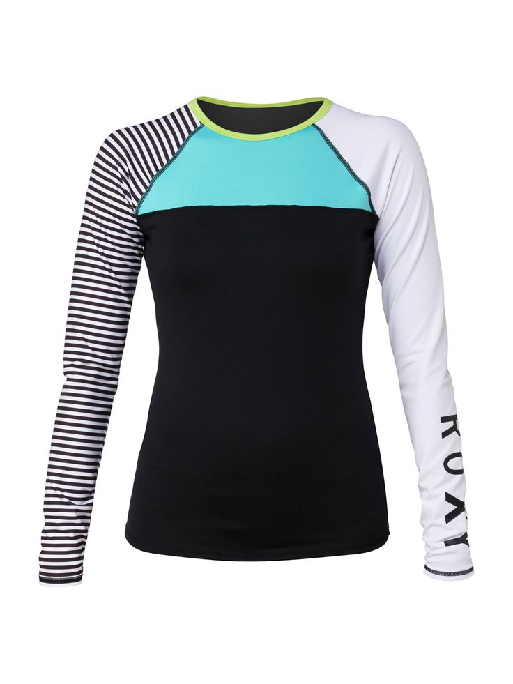 Roxy Womens Mountain and Wave Long Sleeve Crew Shirt