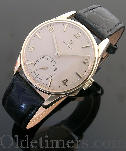 1960s 9ct gold vintage Omega watch