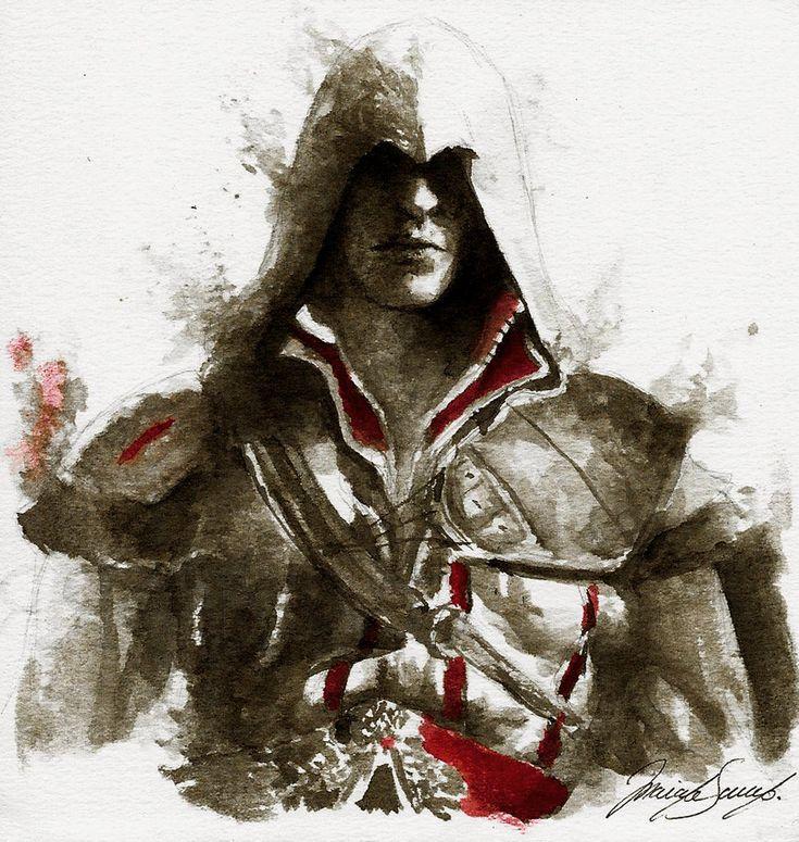 Ezio Auditore by ArcticHorizont