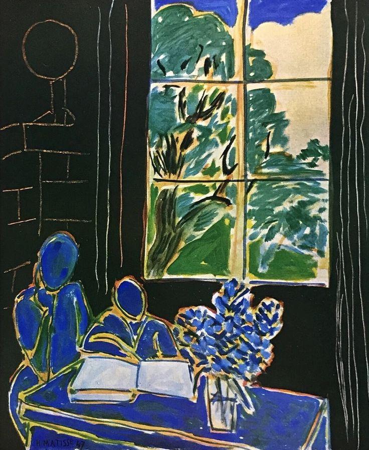 Henri Matisse The Silence Living in Houses 1947