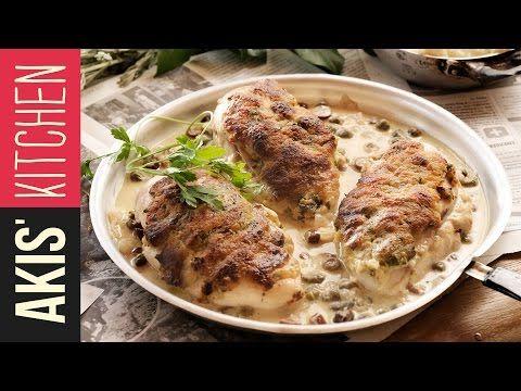 Imperial Piccata Chicken | Akis Kitchen - YouTube