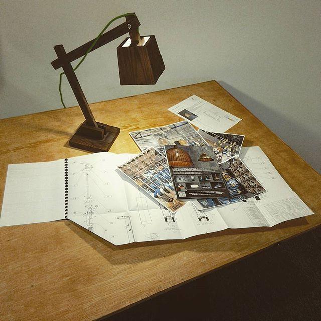 W Miolighting praca wre 💡💨 __________________________ #lamp #work #project #wood #design